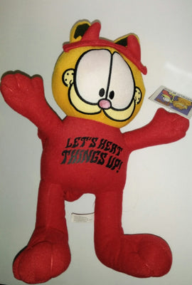 Garfield Devil Plush Stuffed Animal - We Got Character