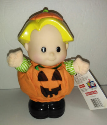 Fisher Price Talking Eddie Halloween Doll-We Got Character