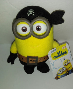 Despicable Me Minions Deluxe Plush Buddies Eye Matie Minion-We Got Character