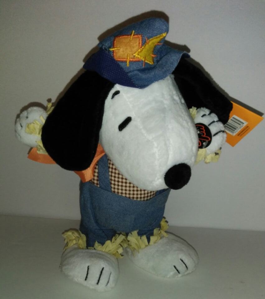 Peanuts Snoopy Fall Musical Plush We Got Character