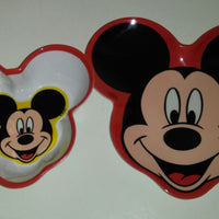 Mickey Mouse Dinnerware Plate & Bowl - We Got Character