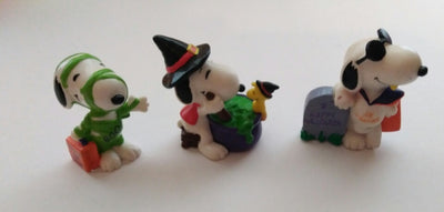Snoopy Halloween Pvc Figurines - We Got Character