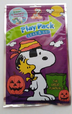 Peanuts Snoopy Halloween Play Pack Grab & Go-We Got Character