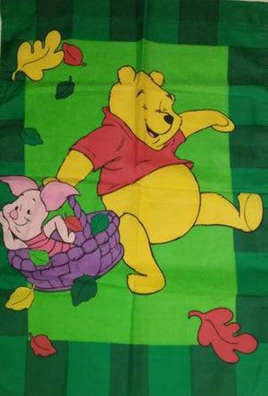 Winnie The Pooh & Piglet Fall Flag-We Got Character