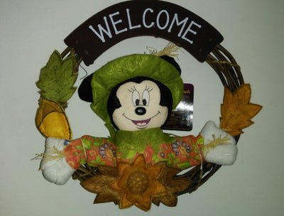Minnie Mouse Fall Wreath - We Got Character