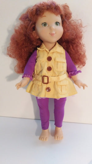 Fancy Nancy Doll-We Got Character