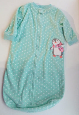 Carters Microfleece Sleep Bag Outfit with Penguin-We Got Character