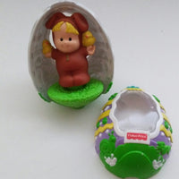 Fisher Price Toy Little People Tippity Top Egg Easter Bunny 1999-We Got Character