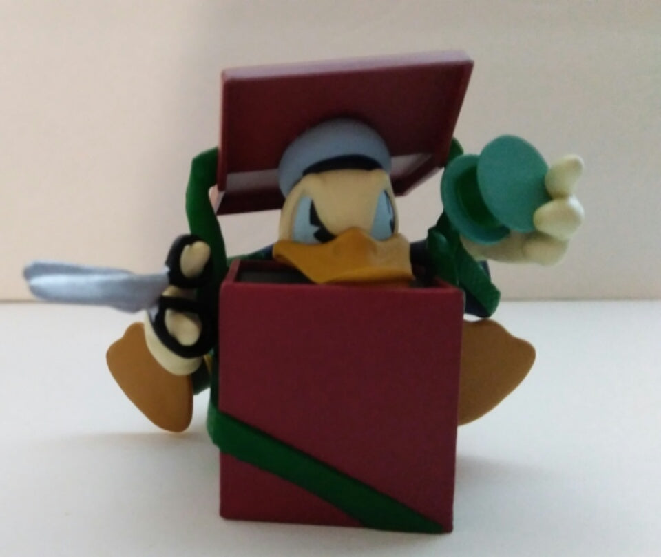 Donald's Surprising Gift Hallmark Ornament-We Got Character