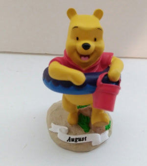 Disney Home August Figurine Winnie The Pooh-We Got Character