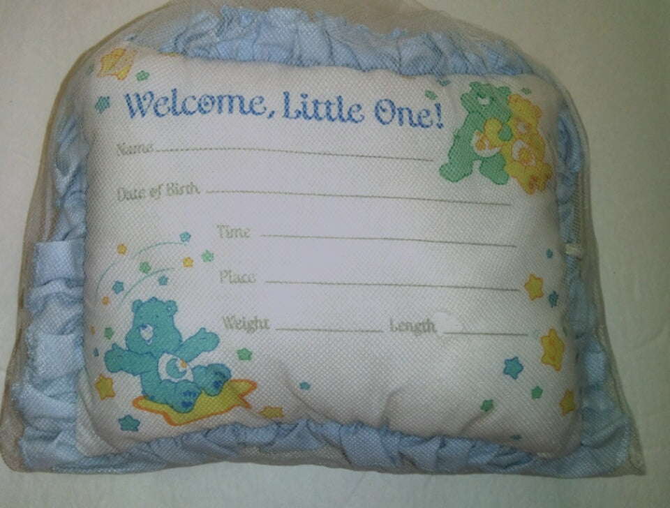 Care Bears Personalized Infant Pillow-We Got Character