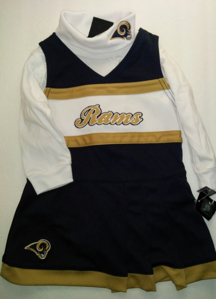 Rams NFL Team Apparel Kids Dress-We Got Character