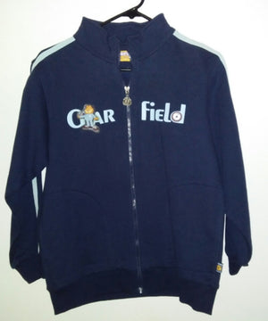 Garfield Navy Blue Pin Stripped Jacket - We Got Character