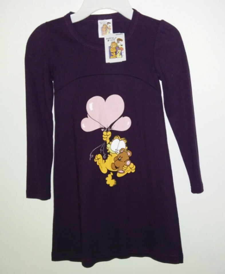 Garfield Pooky Long Sleeve Top Dress - We Got Character
