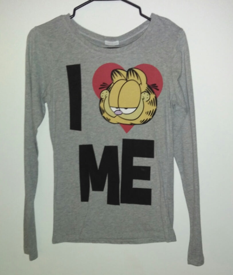 Garfield Long Sleeve Shirt I Love Me-We Got Character