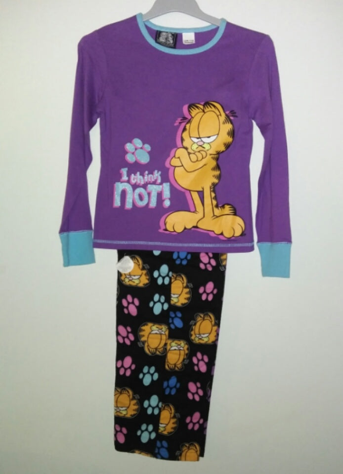 Garfield Youth 2 Piece Pajamas I Think Not-We Got Character