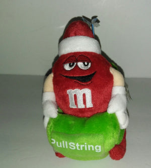 M&M Red Plush Christmas Toy - We Got Character