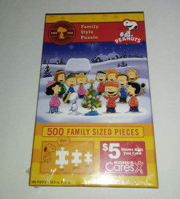 Peanuts Snoopy Kohl's Care Puzzle-We Got Character