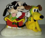 Mickey Goofy Pluto Sleigh Ride Animated Musical - We Got Character