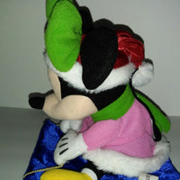 Disney Minnie Mouse Sledding Musical Singing Holiday Plush-We Got Character