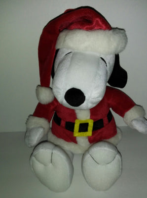 Snoopy Hallmark Santa Plush-We Got Character
