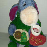 Disney Eeyore Christmas Holiday Plush-We Got Character