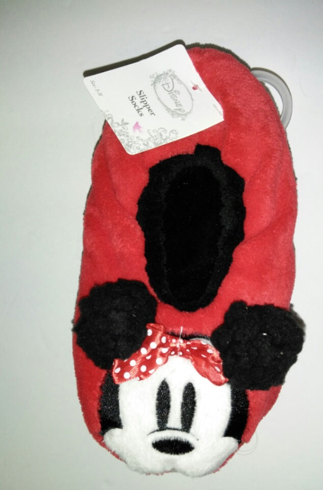 Minnie Mouse Slipper Socks - We Got Character