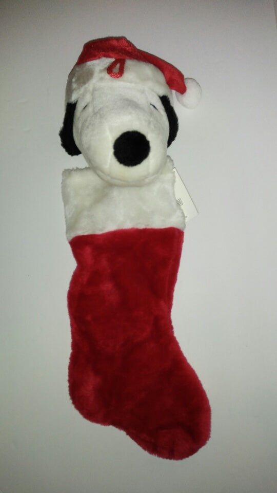 snoopy christmas stocking we got character - Snoopy Christmas Stocking