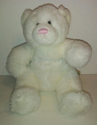 Babw Build a Bear White Bear with Pink Nose-We Got Character
