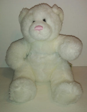Babw Build a Bear White Bear with Pink Nose - We Got Character
