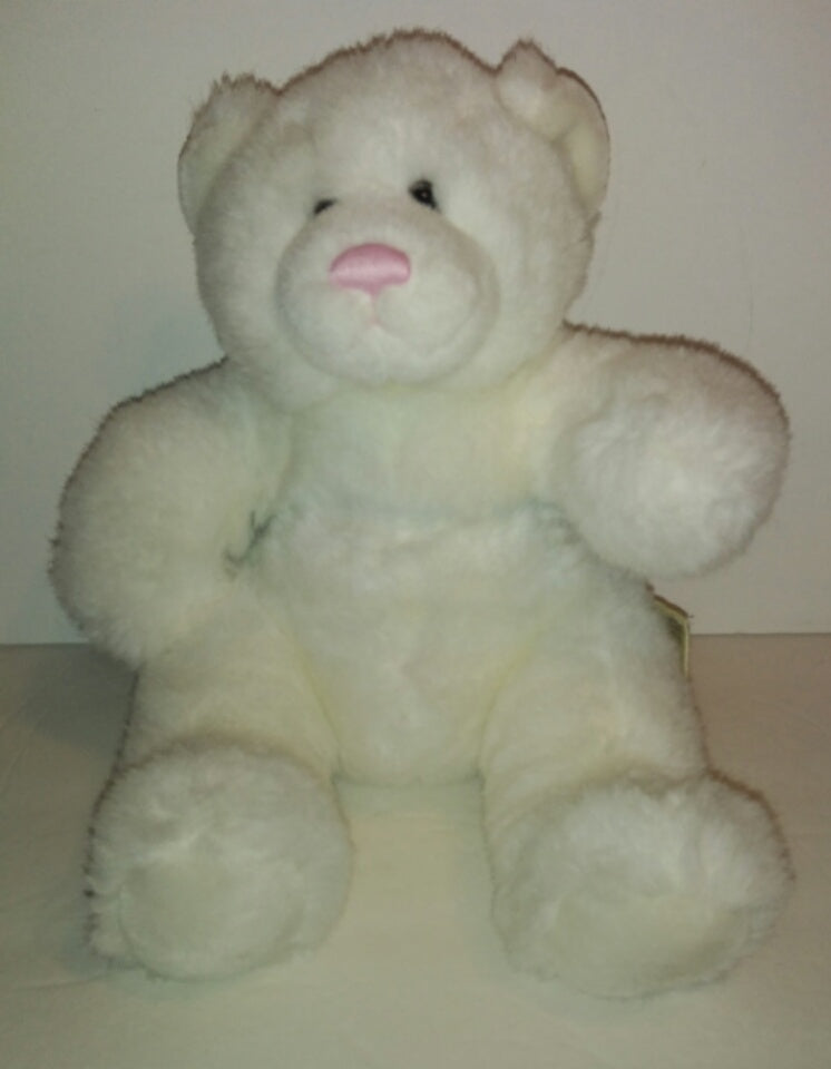 4d5ca234bc9 Babw Build a Bear White Bear with Pink Nose - We Got Character