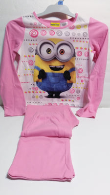 Minions Illumination 2 Piece Pink Pajama Set - We Got Character