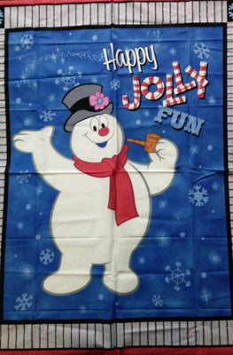 Frosty the Snowman Fabric Panel - We Got Character