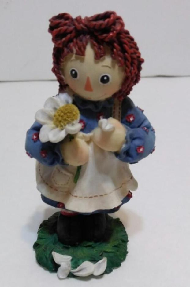 Raggedy Ann Figurine He Loves Me-We Got Character