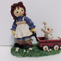 Raggedy Ann Figurine Good Deeds Fill The Heart With Joy-We Got Character