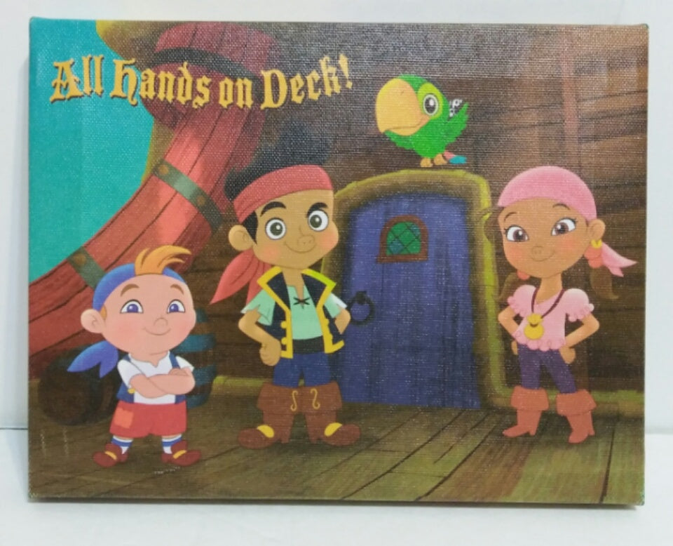Jake and the Never Land Pirates Canvas Print Wall Decoration | We ...
