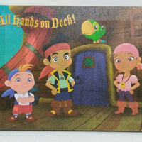 Jake and the Never Land Pirates Canvas Print Wall Decoration-We Got Character