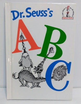 Dr Seuss ABC (Hardcover) Book - We Got Character