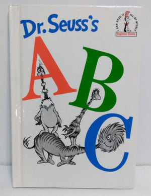 Dr Seuss ABC (Hardcover) Book-We Got Character