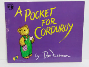 A Pocket For Corduroy Paperback Book-We Got Character