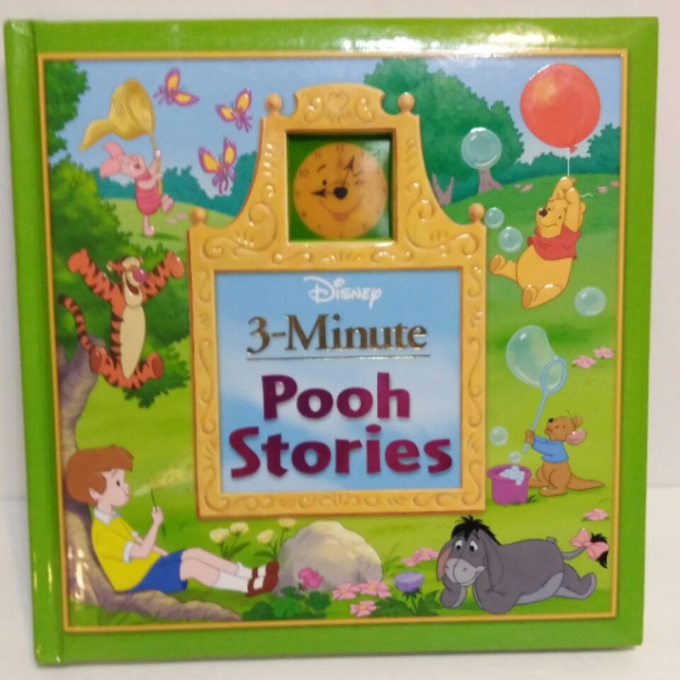 3 Minute Winnie The Pooh Stories Hardcover Book - We Got Character