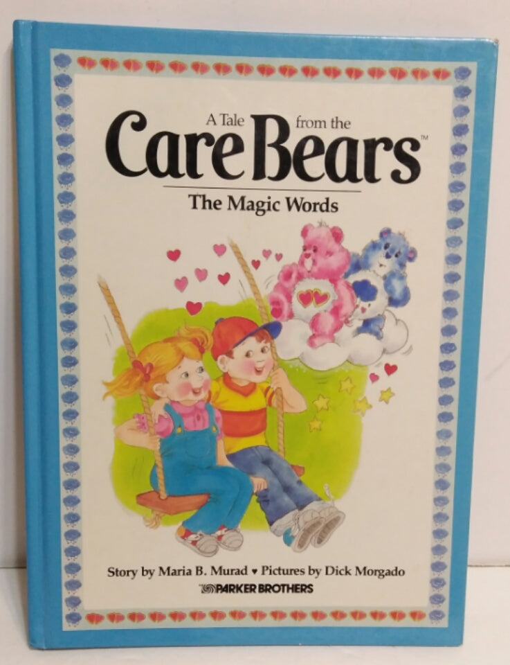 A Tale From the Care Bears The Magic Words (Hardcover) Book