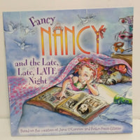 Fancy Nancy and the Late, Late Night Paperback Book - We Got Character