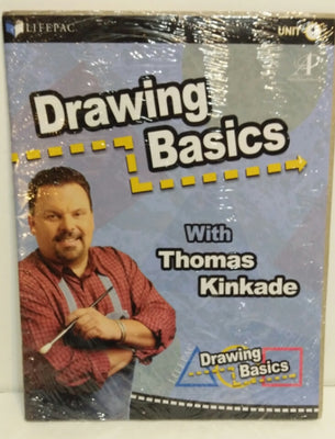 Drawing Basics with Thomas Kinkade Lifepac Alpha Omega Unit 1 - We Got Character