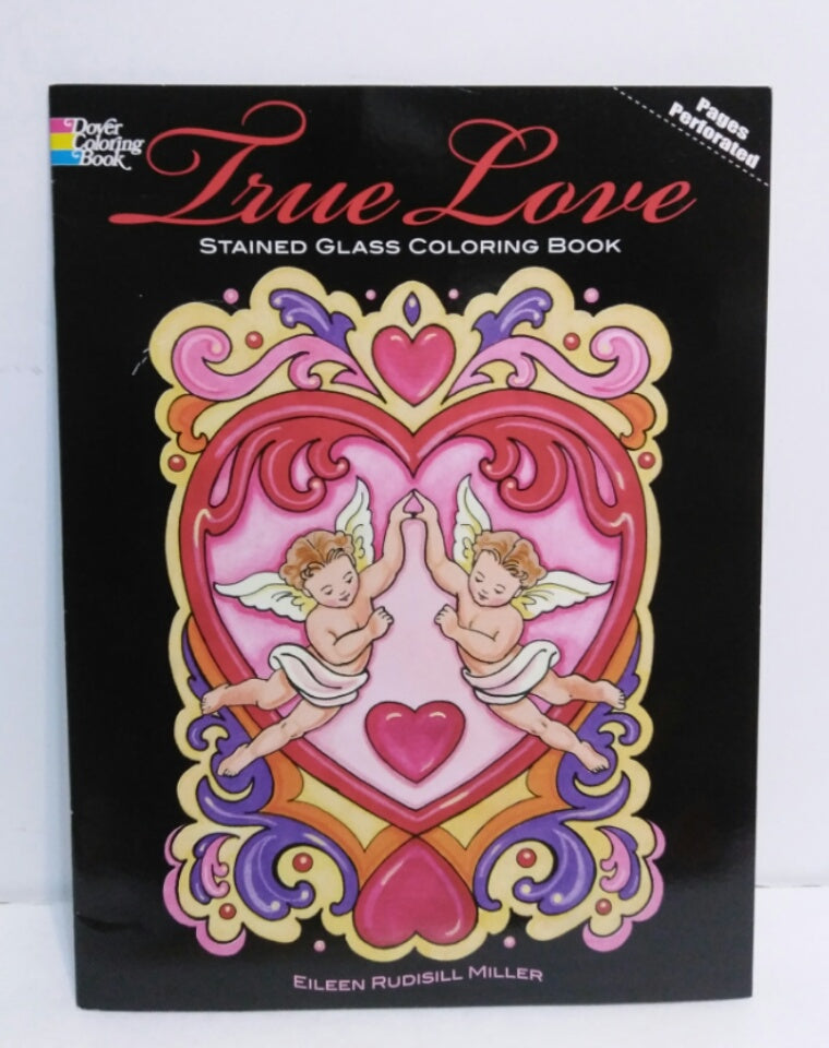 True Love: Stained Glass Coloring Book-We Got Character