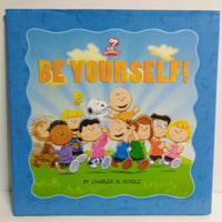 Peanuts Be Yourself Kohls (Hardcover) Book-We Got Character