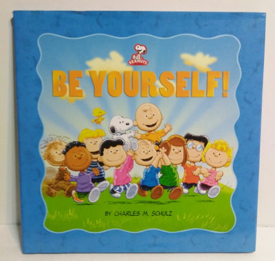 Peanuts Be Yourself Kohls (Hardcover) Book - We Got Character