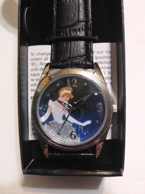 Disney Princess Cinderella Watch W/ Sparkle Crystal Dress-We Got Character