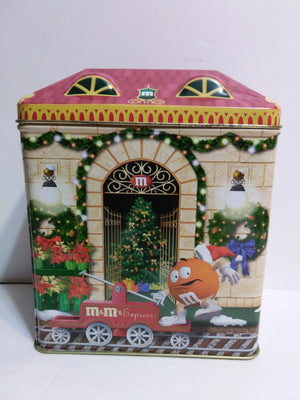 M&M Holiday Tin Train Station-We Got Character