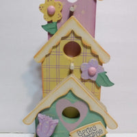Easter Wooden Spring Bird House Decoration-We Got Character